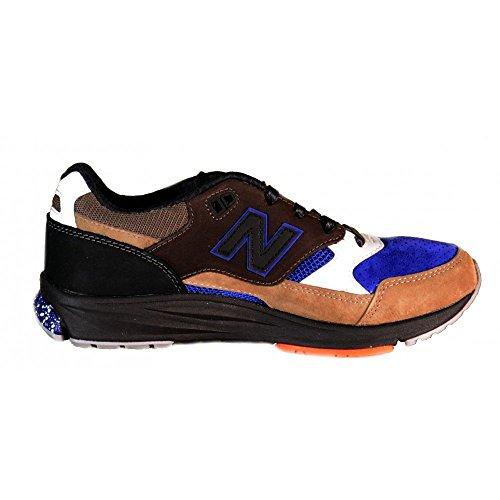 New Balance - New Balance Scarpe Sportive Uomo Multicolore Pelle Scamosciata Tela MVL530AE - Azul, 41,5