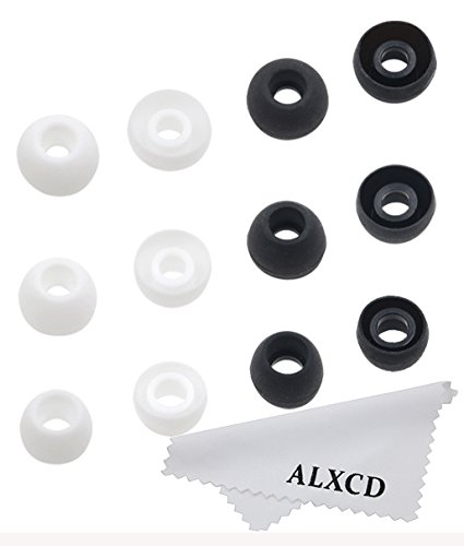 ALXCD Eartips for Sol Republic Jax In-Ear Headphone,SML 3 Sizes 6 Pair Silicone Replacement Ear Tips Gel Cushion, Fit for Sol Replublic Earphone Jax