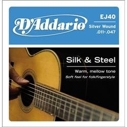 Monster High Names All (D'Addario EJ40 Silk & Steel Folk Guitar Strings, 11-47)