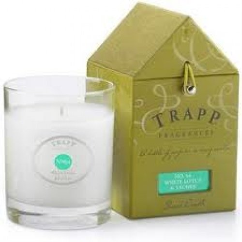 - Trapp 7 oz Poured Candle No. 64 White Lotus & Lychee