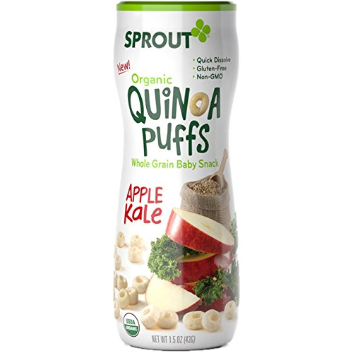 Sprout Puffs, Apple Kale, 1.5 oz