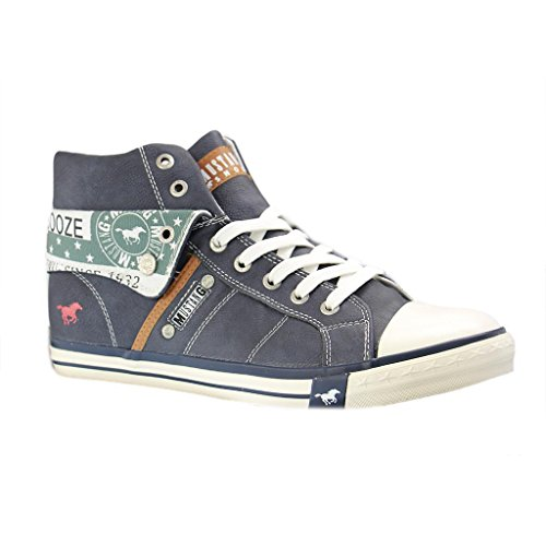 Blau Mustang Donna Mustang Sneaker Sneaker wzXp4q