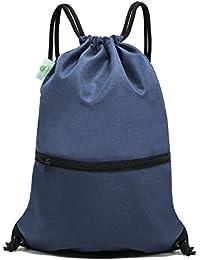 Drawstring Backpack Bag Sport Gym Sackpack 485fb01de81ec