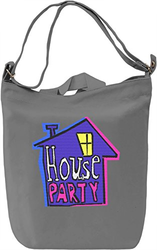 Welcome To My House Party Borsa Giornaliera Canvas Canvas Day Bag| 100% Premium Cotton Canvas| DTG Printing|
