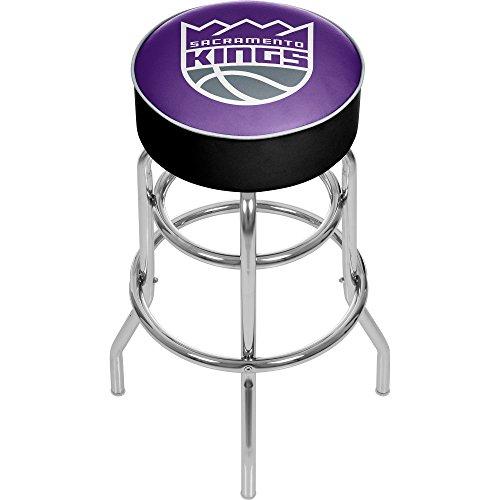 NBA Sacramento Kings Padded Swivel Bar Stool