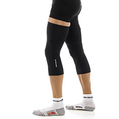 Giordana Sport Super Roubaix Knee Warmers Black, L/XL