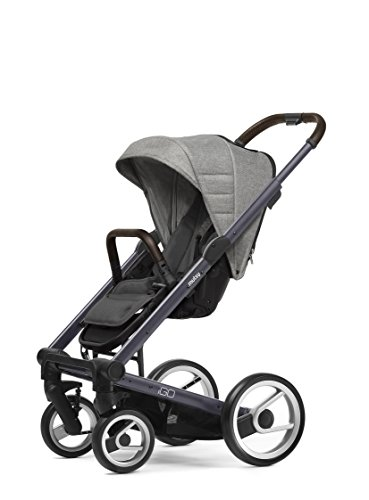 Mutsy Igo Heritage Edition Stroller, Dark Grey Chasiss/Heritage Dawn
