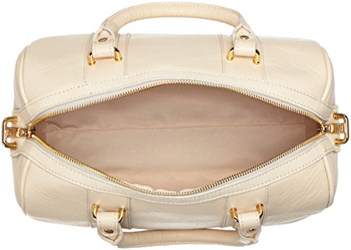 Stylish Beige Made Genuine 32x23x18cm Bag In Hand Italy Inspired Leather 100 Ctm Woman xqAfII7