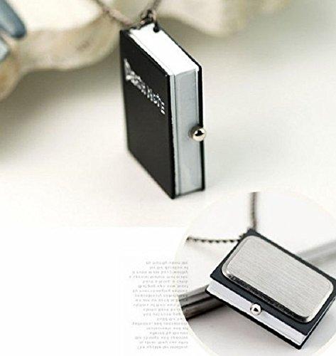 Malloom® Nueva único Death Note Collar Cadena Reloj de Bolsillo Perfecto Regalo: Amazon.es: Relojes