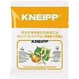 クナイプ バスソルト オレンジ・リンデンバウムの香り 40g(入浴剤 バスソルト)
