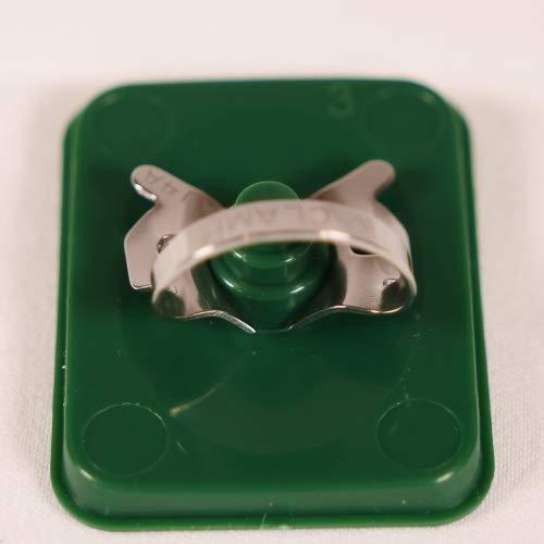 Amazon.com: KClamp #14A - ENDODONTIC Accessory Rubber Dental Dam CLAMP: Industrial & Scientific