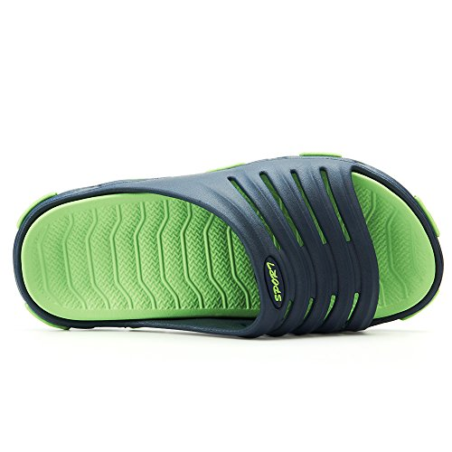 Shower Mens Flip Swimming Flops Casual Blue Shoes Sport Beach Lightweight Slip On Boys Sandals VILOCY Sliders Summer Pool vRwdXv