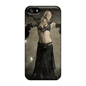Series Skin Case Cover For Iphone 5/5s(fantasy Girl 5)