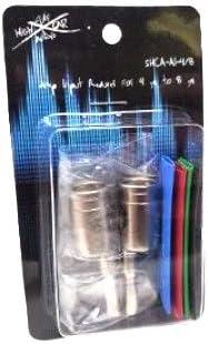 1//0 Gauge - 4 Gauge Sky High Car Audio Amp Input Reducers Four Heat Shrink Inputs