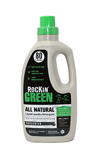 Natural Liquid Laundry Detergent by Rockin' Green