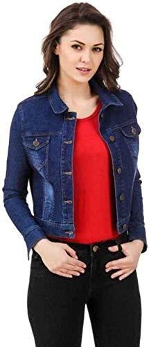 41jJe6knsXL FUNDAY FASHION Women's Solid Regular Jacket