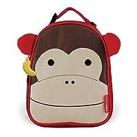 Lonchera aislada para niños Skip Hop Zoo, Marshall Monkey, marrón
