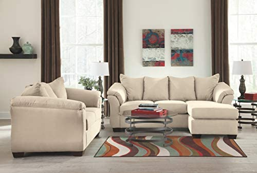 home, kitchen, furniture, living room furniture,  sofas, couches 7 on sale Signature Design by Ashley -  Darcy Microfiber Sofa with in USA