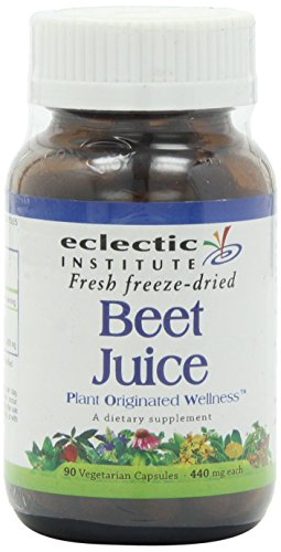 Beet Juice Freeze-Dried Eclectic Institute 90 Caps 2 Pack