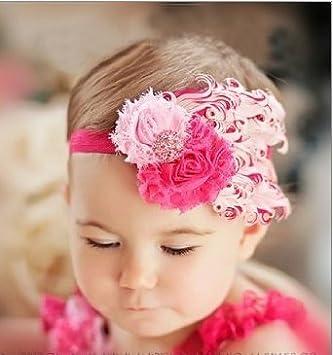 BABY GIRL BEAUTIFUL SOFT COTTON FLOWER HEADBAND