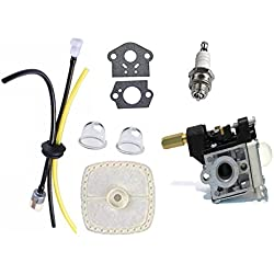 Annpee RB-K75 Carburetor & Fuel Maintenance Kit For for ECHO SRM-210 SRM-210i SRM-210SB SRM-210U SRM-211 PE-200 PPF-211 GT200R GT200i HC150 SRM210 A021000740