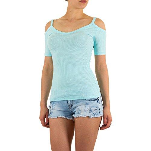 Ital-Design - Camiseta sin mangas - para mujer turquesa