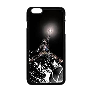 Basketball Jumping Man Background Case Cover for Personalized Case for Personalized iPhone 6 (Laser Technology) 5.5 inch Screen iPhone Strong Protect Case-01