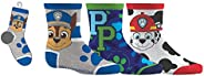 Paw Patrol Boys Sport Socks 3 Pairs 12-24 Months Shoe Size 5-8