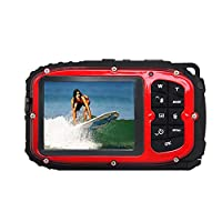 Waterproof Camera,KINGEAR 16 MP Underwater Digital Camera Camcorder by KINGEAR