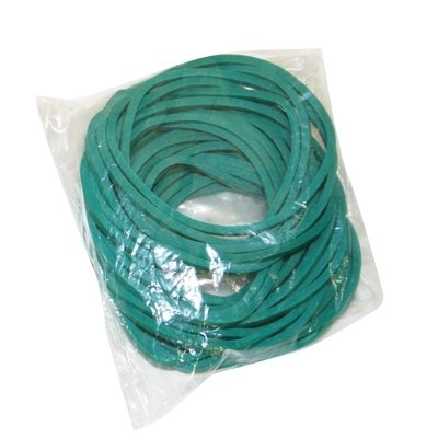 Replacement Rubber Bands, Hand Exerciser CanDo - Item Number 101853PK - Green - 25 Each / Pack