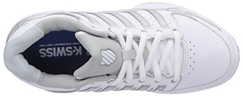 KSwiss Hypercourt Express LTR Clay Wh/Gy Women's Shoes White cheap shop new cheap price buy cheap for nice outlet pay with visa LrQc0T00
