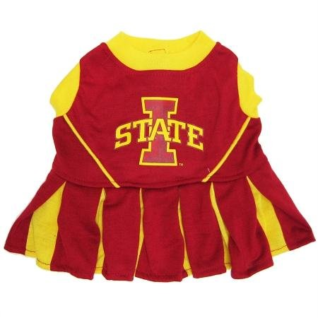 Pets First Iowa State University Dog Cheerleader Outfit, Medium