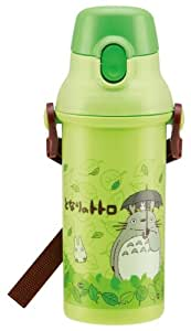 Plastic drink bottle one-touch direct 480ml My Neighbor Totoro Stroll (Studio Ghibli) Japan import by Skater