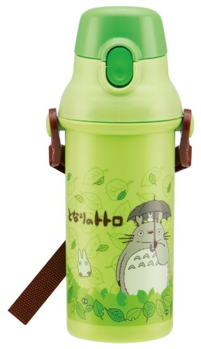 (Skater Plastic drink bottle one-touch direct 480ml My Neighbor Totoro Stroll (Studio Ghibli) Japan import by)