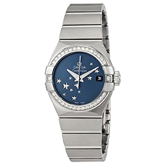 Omega Women's 'Constellation' Swiss Automatic Stainless Steel Dress Watch,  Color:Silver-