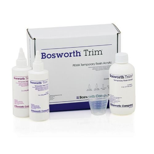 Bosworth 0921090 Trim II Standard Kit, 6 Shades, Powder 1.5 oz. Capacity, Liquid 4 oz. Capacity