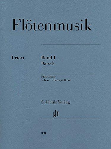 Flute Music Volume 1 Baroque Period ebook