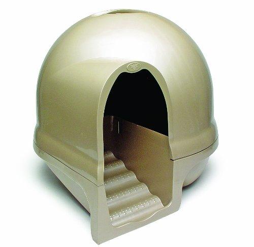 Booda Dome Cleanstep Cat Box, Titanium