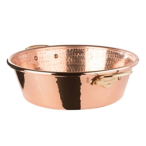M'passion Copper Hammered Jam Pan by Mauviel