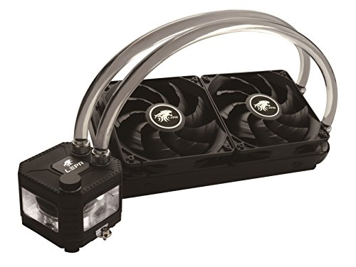 LEPA Exllusion240 Intel/AMD 400W+ TDP Liquid CPU Cooler with Refillable Coolant Design,LPWEL240-HF (AM4 bracket included!)