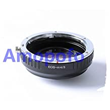 Amopofo Focal Reducer Speed Booster Adapter Canon EOS EF mount lens to Micro 4/3 M43 GX7