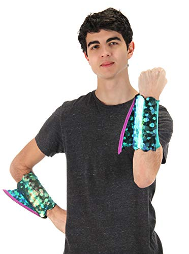 elope Seahorse Mermaid Shimmer Fin Arm Cuffs� Blue/Green - http://coolthings.us