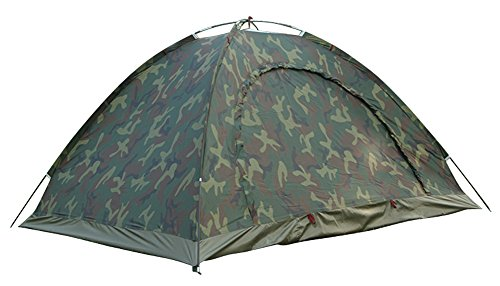 JL DEPOT Outdoor Camping Tents,Camouflage Tent,Windproof Camping Tent Outdoor,2 Person Tent