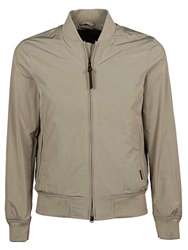 Woolrich Poliestere Beige Wocps26408557 Uomo Giacca Outerwear 8rqp8