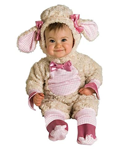Rubies Lucky Lil Lamb Newborn Romper Halloween Easter Costume (0-6 Months) -