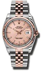 Rolex Lady Datejust Automatic Pink Champagne Dial Steel and 18kt Pink Gold Ladies Watch 116231PSJ