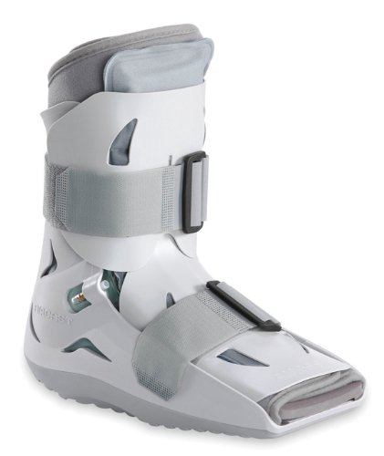 - Aircast SP (Short Pneumatic) Walker Brace / Walking Boot, Large
