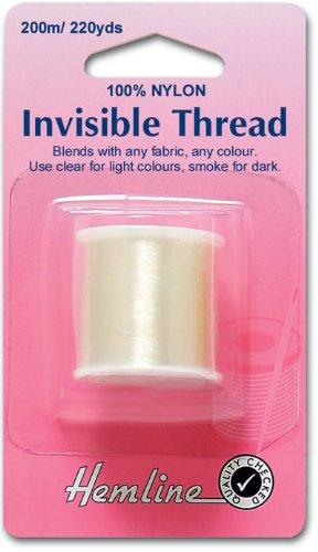 200m Clear Nylon Invisible Thread HEMLINE H240