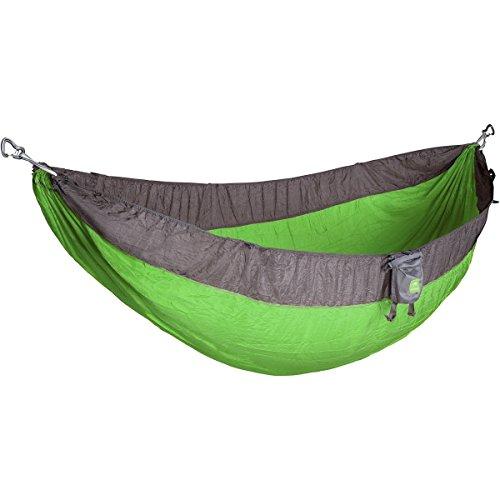 KAMMOK Roo Camping Hammock (Zilker Green) - The World's Best Camping Hammock - Timberline Nylon Knife