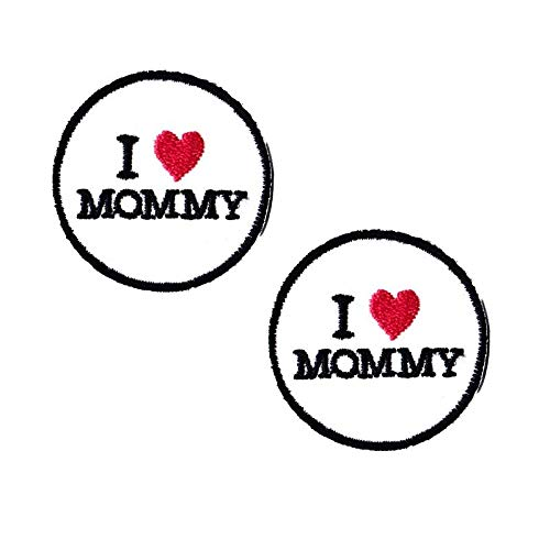 Mommy Patches Mini Patches Cool Iron On Patches Funny Patches for Jackets -
